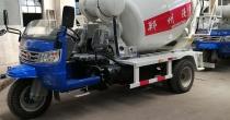 商混小型混凝土搅拌车刹车系统的保养